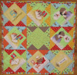 TT Funky Monkey Book Quilt