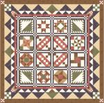 """Memory Lane"" 2009 BOM Quilt from BlockCentral.com"