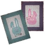 Hart Bunny Girl and Boy Wall Hangings